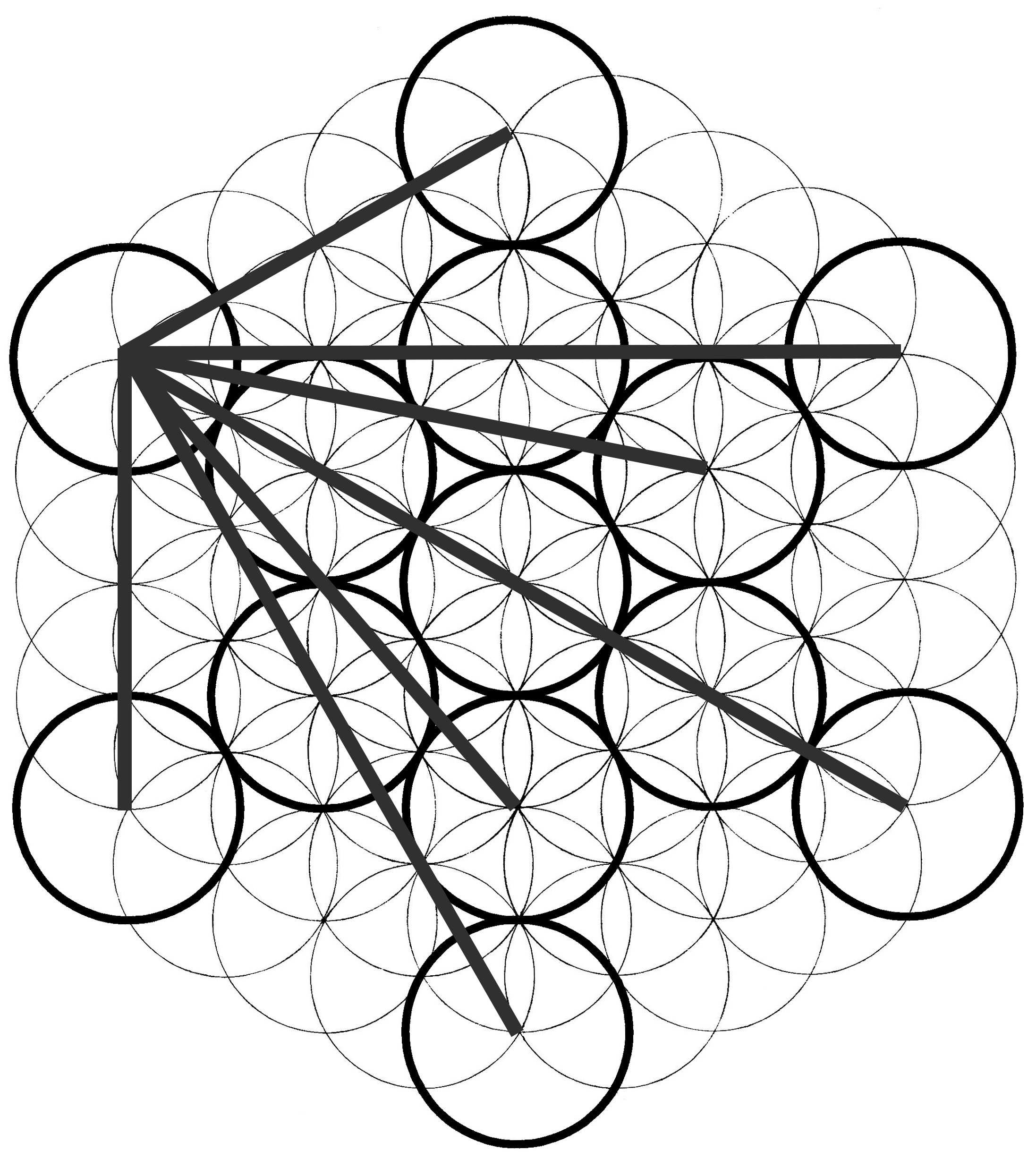 Metatron S Cube How To Draw It Chemical Marriage