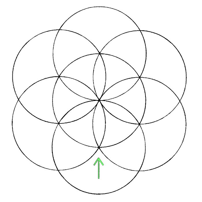 Flower Of Life How To Draw It The Chemical Marriage